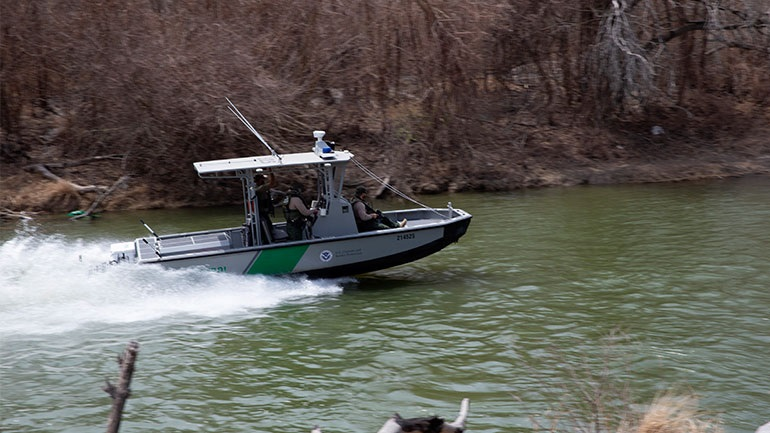 A nine-year-old Mexican boy has died while crossing the Rio Grande River.
