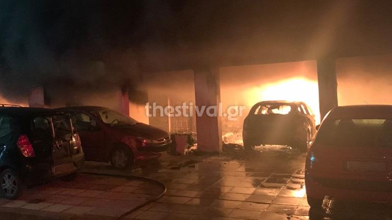 Θεσσαλονίκη: Εμπρηστική επίθεση σε πυλωτή πολυκατοικίας - Κινδύνευσαν ένοικοι