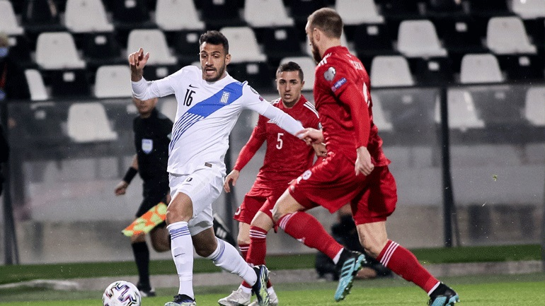 Eντός έδρας στραβοπάτημα για την Ελλάδα, 1-1 με τη Γεωργία