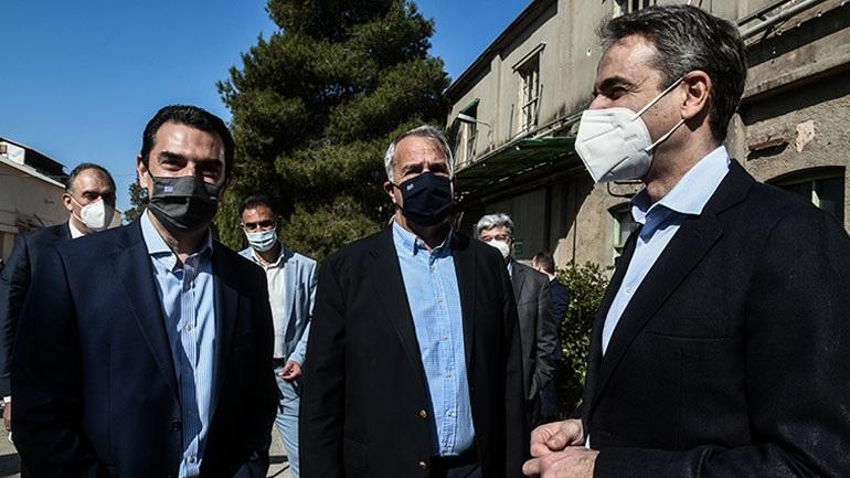 Μητσοτάκης: Το σχέδιο της κυβέρνησης προβλέπει δημιουργία ενός πράσινου πνεύμονα στο κέντρο της πόλης