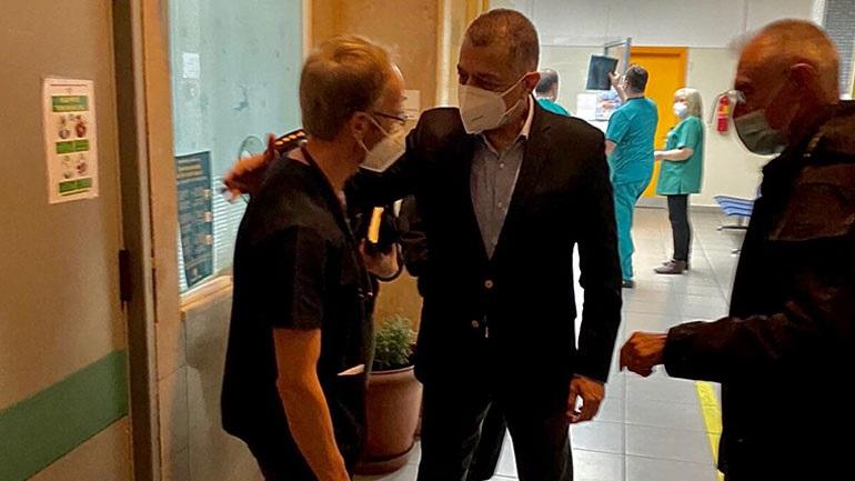Επισκέψεις Στεφανή στα στρατιωτικά νοσοκομεία 251 ΓΝΑ και ΝΙΜΙΤΣ