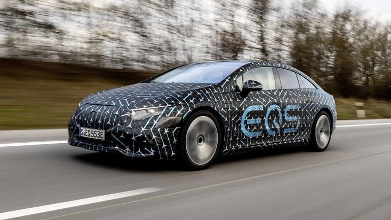 Η νέα ηλεκτρική Mercedes έχει αυτονομία 770 χιλιόμετρα