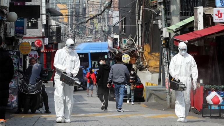 Νότια Κορέα: 731 κρούσματα του νέου κορωνοϊού σε 24 ώρες