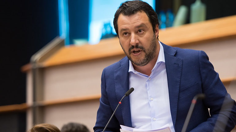 Ιταλία: Ο Ματέο Σαλβίνι παραπέμπεται σε δίκη για στέρηση ατομικής ελευθερίας σε 147 μετανάστες