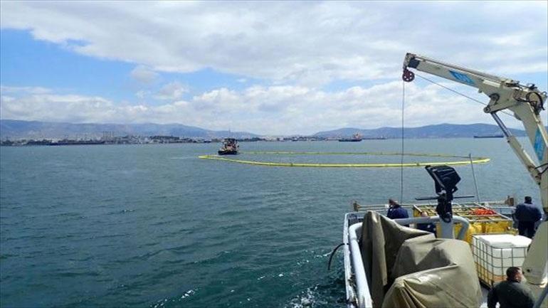 Αντιμετώπιση θαλάσσιας ρύπανσης στην περιοχή του κόλπου Ελευσίνας