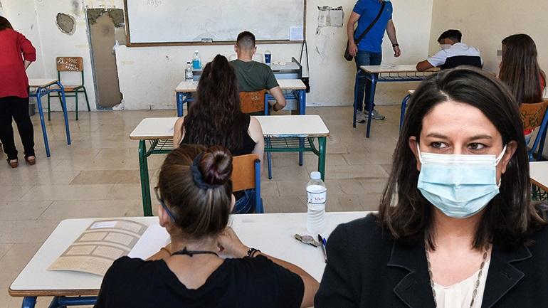 Κεραμέως: Τη Δευτέρα 14 Ιουνίου αρχίζουν οι Πανελλήνιες 2021, δε θα γίνουν προαγωγικές εξετάσεις - Παράταση του σχολικού έτους
