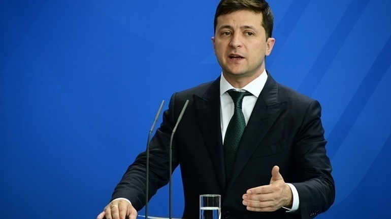 Ζελένσκι: Η αποχώρηση ρωσικών στρατευμάτων από τα σύνορα με την Ουκρανία αποκλιμακώνει την ένταση