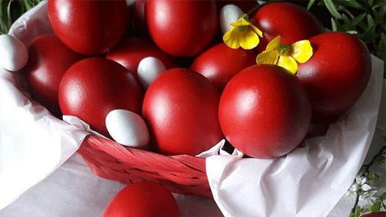 Κόκκινα αυγά, λαογραφία και παράδοση