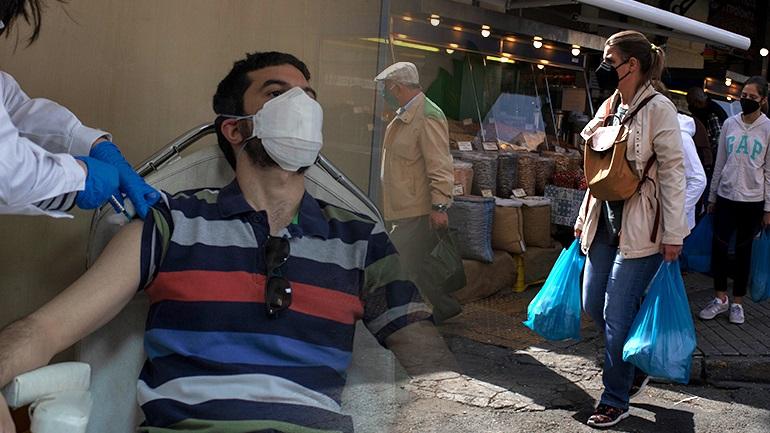 Κορονοϊός : 1.391 κρούσματα - 811 διασωληνωμένοι - 72 νέοι θάνατοι - 17 κρούσματα στην Βοιωτία