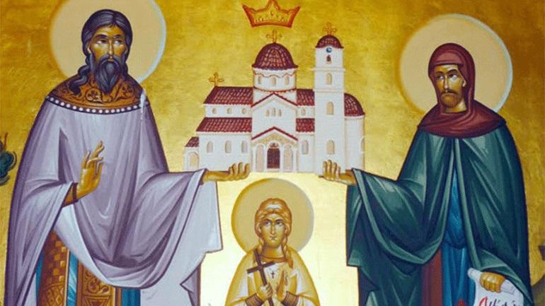 Άγιοι Ραφαήλ, Νικόλαος και Ειρήνη Μάρτυρες του Λόφου των Καρυών