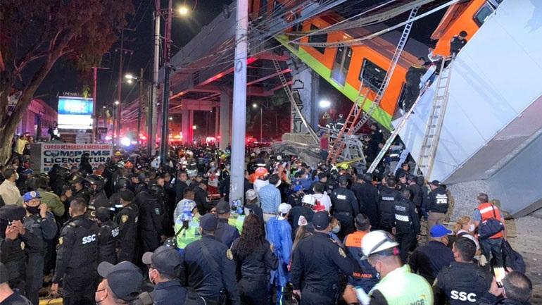 Τραγωδία στο Μεξικό: Δεκάδες νεκροί και τραυματίες σε δυστύχημα στο μετρό