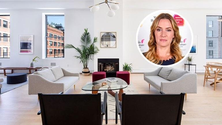 Kate Winslet: Πουλάει την εντυπωσιακή της έπαυλη στη Νέα Υόρκη αξίας 6 εκατ. ευρώ