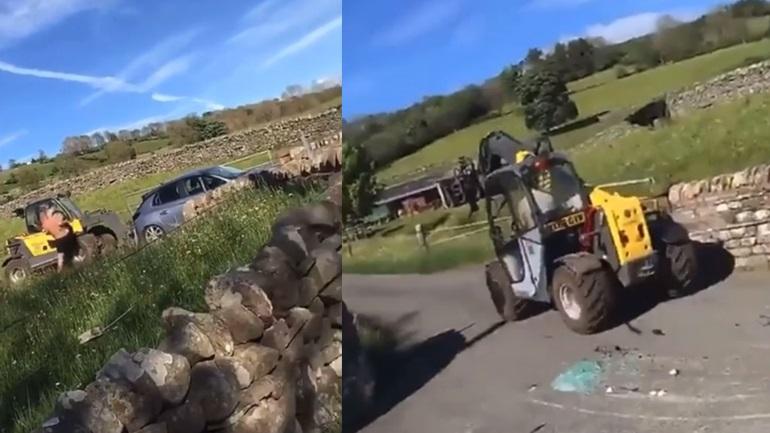 Απαγορεύεται η στάθμευση στο αγρόκτημα