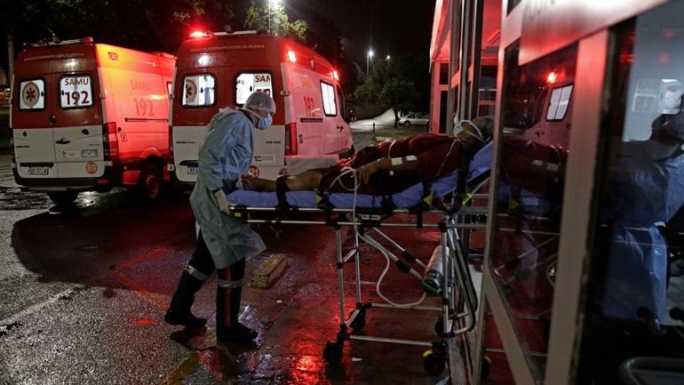 Βραζιλία-Covid-19: Περισσότεροι από 2.500 θάνατοι σε 24 ώρες
