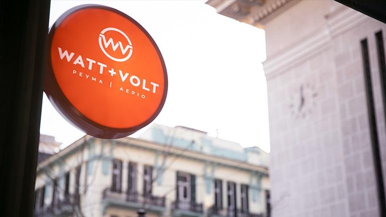 WATT+VOLT: Έφτασε τα 70 καταστήματα σε χρόνο ρεκόρ και συνεχίζει δυναμικά!