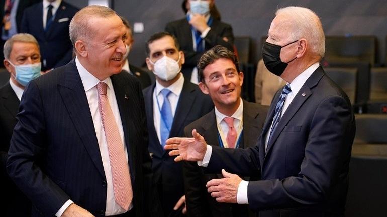 Ερντογάν: Είχαμε μια ειλικρινή και παραγωγική συνάντηση με τον Μπάιντεν