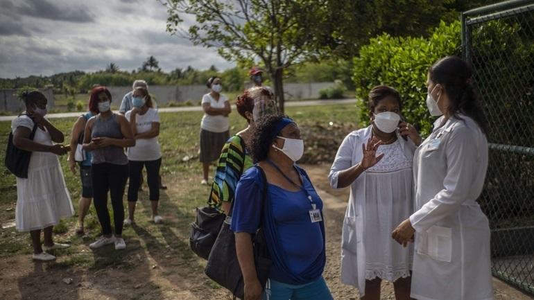 Κούβα: Σχεδόν 1.350 κρούσματα κορωνοϊού σε 24 ώρες