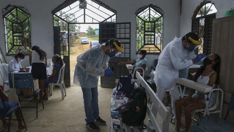 Βραζιλία-Covid-19: Περισσότεροι από 2.300 θάνατοι σε 24 ώρες