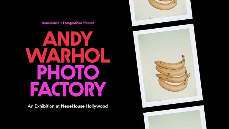 «Andy Warhol: Photo Factory», έκθεση με σπάνιες φωτογραφίες