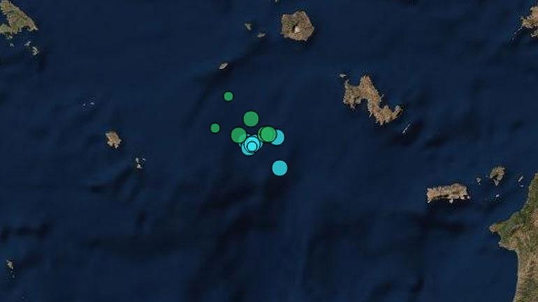 Σεισμός 3,8 Ρίχτερ στην Τήλο