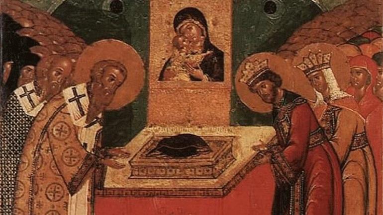 Σήμερα τιμάται η Κατάθεση της Τιμίας Εσθήτος της Υπεραγίας Θεοτόκου