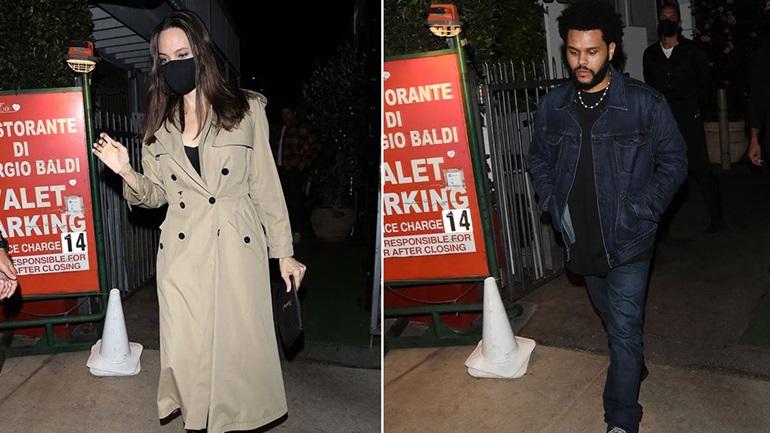 Angelina Jolie - The Weeknd: Η κοινή βραδινή έξοδος που πυροδότησε τις φήμες ότι είναι ζευγάρι