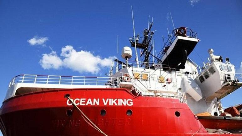 Το Ocean Viking διέσωσε 369 μετανάστες στη Μεσόγειο