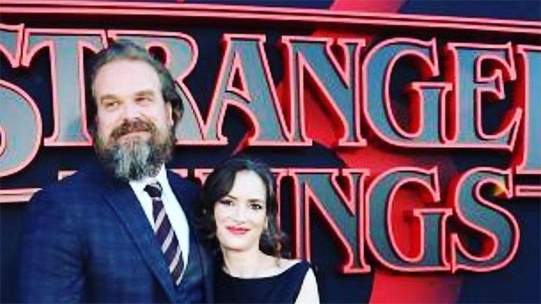 Ο Ντέιβιντ Χάρμπορ για το «Stranger Things» και την ταινία «Black Widow»