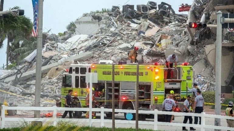 ΗΠΑ: Στους 94 αυξήθηκαν οι νεκροί από την κατάρρευση κτηρίου στη Φλόριντα