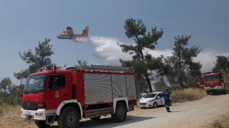 Σε ολονύκτια επιφυλακή η Πυροσβεστική μετά τη φωτιά στο Σέιχ Σου