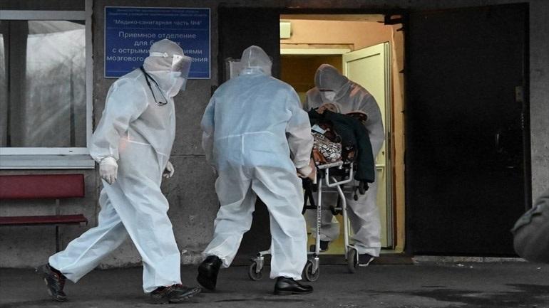 Η Ρωσία κατέγραψε 786 νέους θανάτους από Covid-19