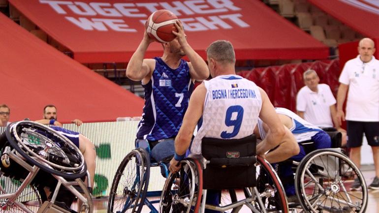 Νέα ήττα για την Εθνική στο Ευρωπαϊκό Πρωτάθλημα μπάσκετ με αμαξίδιο