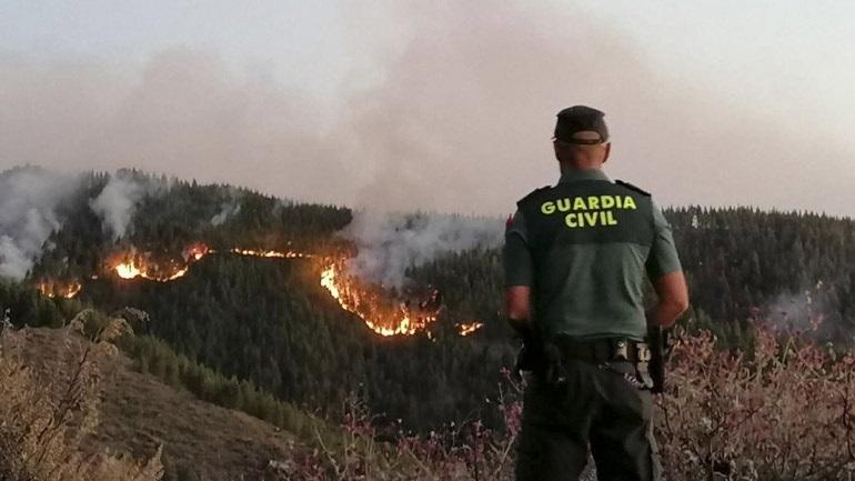 Μεγάλη πυρκαγιά σε φυσικό πάρκο της Καταλονίας