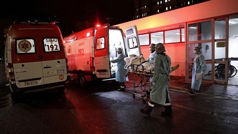 Covid-19: Περισσότεροι από 541.000 οι θάνατοι στη Βραζιλία