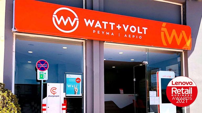 Retail Business Awards 2021: Ακόμα μία σπουδαία διάκριση για τη WATT+VOLT