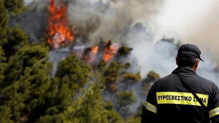 Πολύ υψηλός κίνδυνος πυρκαγιάς το Σάββατο για 5 περιφέρειες της χώρας
