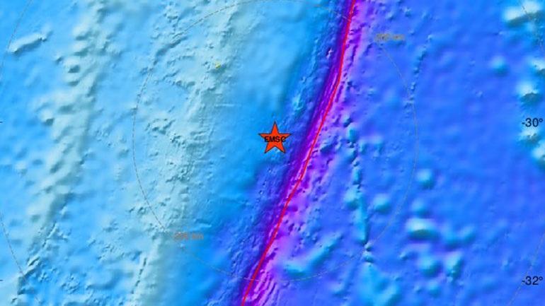 Σεισμός 5,3 Ρίχτερ στα νησιά Κερμαντέκ