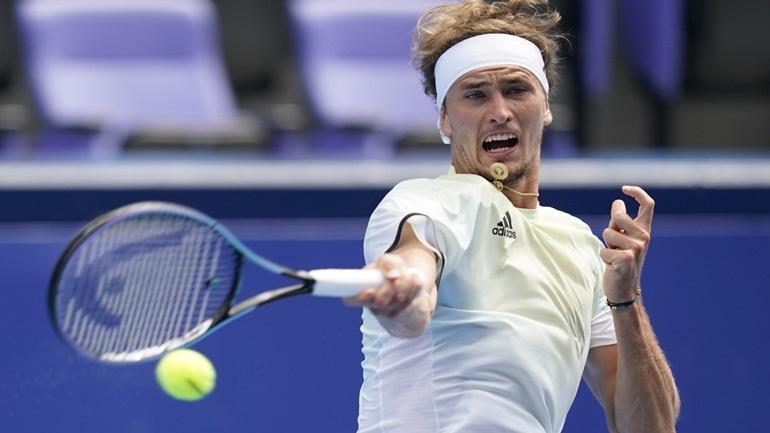 Τένις: Άνετη νίκη-πρόκριση για τον Ζβέρεφ