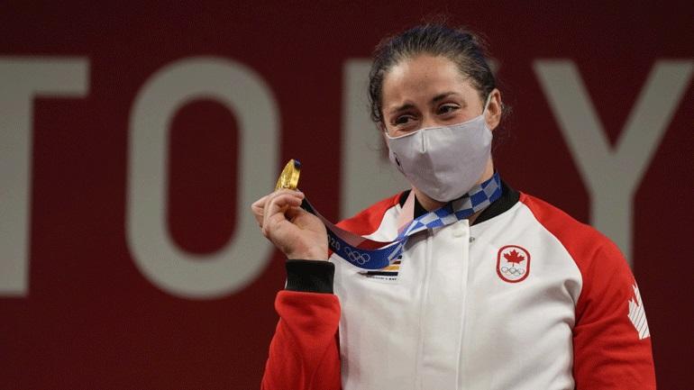 Άρση Βαρών: «Χρυσή» η Καναδέζα Τσάρον στα 64 κιλά