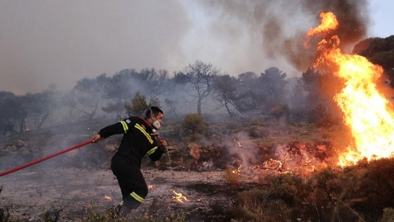 Πυροσβεστική: 48 πυρκαγιές το τελευταίο εικοσιτετράωρο