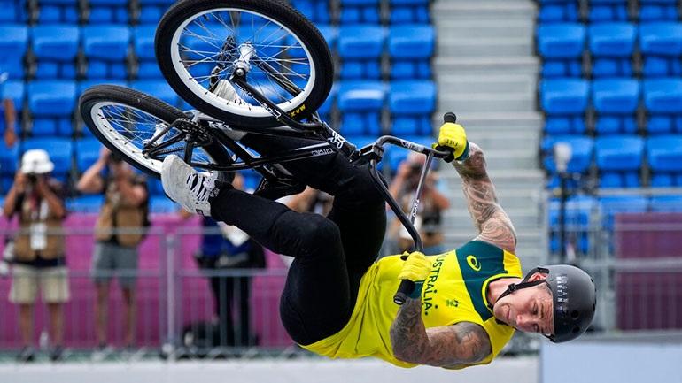 Ποδηλασία ανδρών: «Χρυσός» Λόγκαν Μάρτιν στο bmx freestyle
