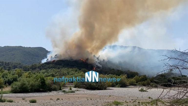 Πυρκαγιά στο Παραδείσι Αγρινίου