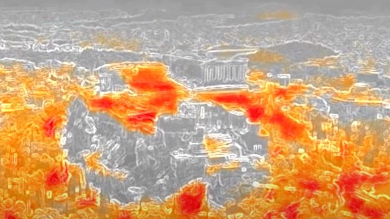 Στους 60 βαθμούς η θερμοκρασία στα πεζοδρόμια της Αθήνας