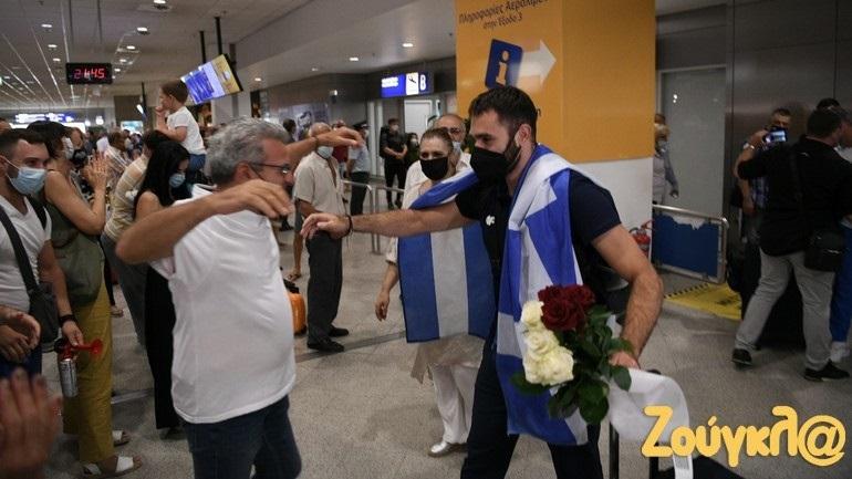 Τόκιο 2020: Επέστρεψε στην Αθήνα ο Θοδωρής Ιακωβίδης!
