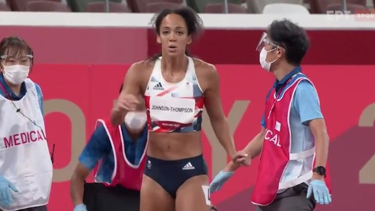 Συγκινητικό βίντεο: Η Τζόνσον τερμάτισε ενώ είχε τραυματιστεί!