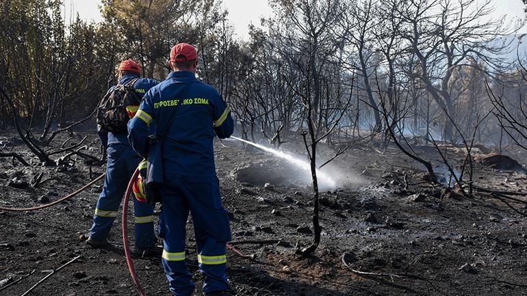 Πυροσβέστης νοσηλεύεται με κατάγματα στο νοσοκομείο Χαλκίδας