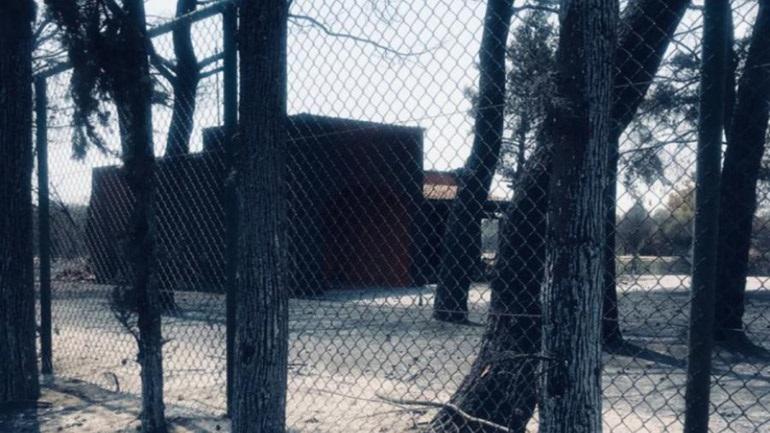 Κάηκε το πολυτελές σπίτι του Κοντομηνά στη Βαρυμπόμπη