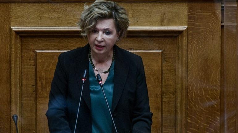 Γεροβασίλη: Η Βουλή να υιοθετήσει τα τέκνα του πεσόντος εθελοντή πυροσβέστη