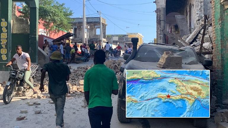 Σεισμός 7,2 Ρίχτερ συγκλόνισε την Αϊτή