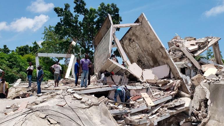 Τραγωδία στην Αϊτή